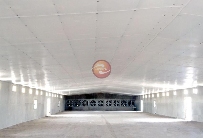 عایق بندی ( ایزولاسیون ) سالن مرغداری و دامداری - عایق حرارت و سرما - افزایش روشنایی